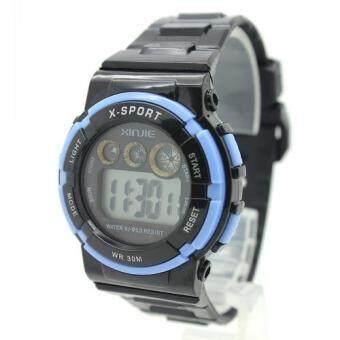 X Sport Watch นาฬิกาข้อมือผู้หญิงและเด็ก สายยาง ระบบ Digital XS-B07