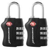 ราคา Xcsource 2 Pcs Tsa Security 3 Digit Combination Suitcase Luggage Bag Code Lock Padlock ที่สุด
