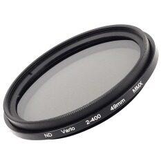 ราคา Xcsource 49Mm Slim Fader Variable Nd Filter Adjustable Neutral Density Nd2 To Nd400 Xcsource ออนไลน์