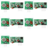 ซื้อ Xcsource 5 ชิ้น 433Mhz Rf ส่งสัญญาณ Module ชุดรับสัญญาณสำหรับ Arduino Arm Mcu Wl ถูก