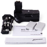 ขาย Xcsource แบตเตอรี่กริป แบตเตอรี่ 2 ก้อน สำหรับ Canon Eos 550D 600D 650D 700D สีดำ ราคาถูกที่สุด