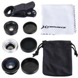 ราคา Xcsource ชุดเลนส์ Wide Fish Eye Macro Telephoto Lens สำหรับ Ipad Iphone Samsung ใหม่ ถูก