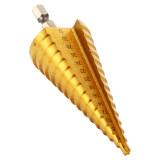 ราคา Xcsource ดอกสว่าน ดอกเจดีย์ Large Hss Steel Step Cone Drill Countersink Titanium Bit Set Hole 4 32Mm ถูก