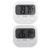 ราคา Xcsource Digital Lcd Indoor Temperature Humidity Meter Hygrometer Thermometer 2Pcs