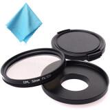 ราคา Xcsource เลนส์กล้อง 52Mm Cpl Filter Set Adapter Cpl Filter Lens Cap สำหรับ Gopro Hero 3 3 4 Xcsource เป็นต้นฉบับ