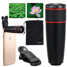 ส่วนลด Xcsource เลนส์ติดโทรศัพท์ สมาร์ทโฟน Unviersal 12X Zoom Phone Telephoto Camera Lens With Clip Xcsource ใน กรุงเทพมหานคร