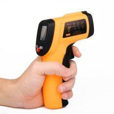 Xcsource เทอร์โมมิเตอร์อินฟาเรด Infrared Ir Thermometer Lcd Non-Contact Point -50°c ~ 380°c.