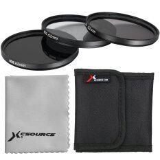 ส่วนลด สินค้า Xcsource ฟิลเตอร์ Nd2 Nd4 Nd8 62Mm Neutral Density สำหรับ Nikon D7100 D7000 D5200 D5100
