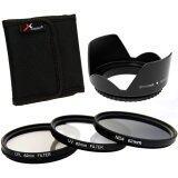 ซื้อ Xcsource ฟิลเตอร์เลนส์ 3 ชิ้น Uv Cpl Nd4 Filter Lens Hood 62Mm สำหรับ Canon 6D 7D 60D 70D 700D 1100D Xcsource ออนไลน์