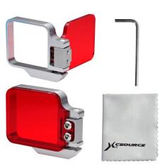 ขาย ซื้อ ออนไลน์ Xcsource Underwater Sea Diving Red Color Correction Flip Filter For Gopro Hero 3 4