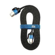 ราคา Xiaomi สายเคเบิ้ลแบนเกรดพรีเมี่ยม ยาว 1M รุ่น Cable สีดำ Xiaomi