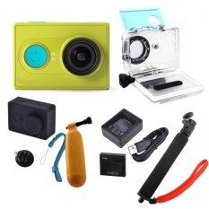 Xiaomi Yi Action Camera Full set (Green)