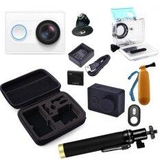Xiaomi Yi Action Camera Standard set full accessories รุ่น Yi Standard (White)