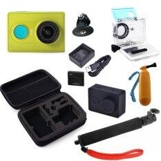 Xiaomi Yi Action Camera Standard set with accessories (Green)