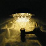 Xml Solar โคมไฟผนัง ทรงกรวย 34 Led เเสง วอมไวท์ ถูก