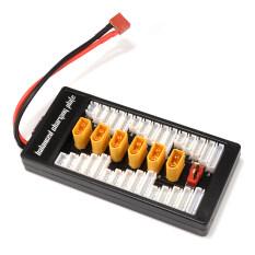 ซื้อ Xt60 Plug 2 6S Lipo Battery Parallel Balanced Charge Plate Charging Board