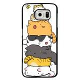 ซื้อ Y และเอ็มแมวดำแมวสีเหลืองโทรศัพท์กรณีสำหรับ Samsung Galaxy S6 ขอบ หลากสี จีน