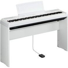 ราคา Yamaha เปียโน ดิจิตอล Digital Piano รุ่น P 115 Wh Adapter Pa150 พร้อมขาตั้ง ที่วางโน๊ต Yamaha ออนไลน์