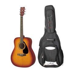 YAMAHA กีตาร์โปร่ง 14 ข้อ Acoustic Guitar F310 TBS  พร้อม กระเป๋ากีตาร์