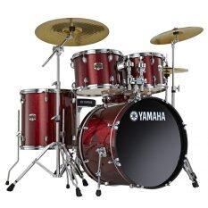 ส่วนลด สินค้า Yamaha กลองชุด 5 ใบ รุ่น Gig Maker Burgundy Glister