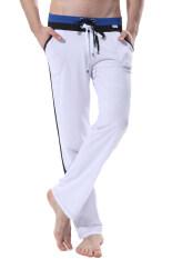 ราคา Yazilind กางเกงวิ่ง สีขาว เป็นต้นฉบับ