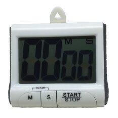ขาย Yeesop นาฬิกาจับเวลา เดินหน้าถอยหลัง ดิจิตอล สีขาว Unbranded Generic เป็นต้นฉบับ