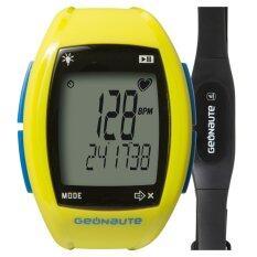ทบทวน ที่สุด Geonaute นาฬิกาวัดอัตราการเต้นหัวใจ Heart Rate รุ่น On Rhythm 310 สีเหลือง