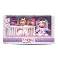 You & Me Ym 8 Mini Twins Deluxe Set By Toysrus.
