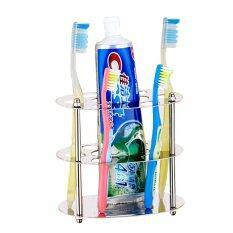 Ysb Cassa ที่ใส่แปรงสีฟัน ยาสีฟัน แสตนเลส ทรงกลม รุ่น Ss201-F01b.