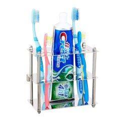 YSB CASSA ที่ใส่แปรงสีฟัน ยาสีฟัน แสตนเลส ทรงสี่เหลี่ยม รุ่น SS201-F01A