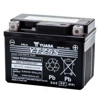 YUASA แบตเตอรี่มอเตอร์ไซค์ YTZ5S-
