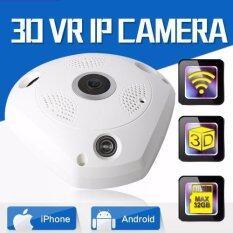 Zeed กล้อง IP VR 360 Panoramic Camera HD 960P Infared กล้องวงจรปิด 3D ใช้งานร่วมกับ VR ฺBox ได้