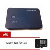 ซื้อ Zeed กล้อง Power Bank Hd1080P Infared 32Gb Black ฟรี Micro Sd 32 Gb ถูก