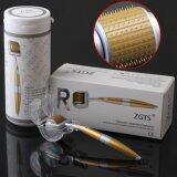 ขาย Zgts Titanium Dermaroller เข็มกลิ้ง รักษาหลุมสิว เดอร์มาโรลเลอร์ From France Microneedle Roller หัวเข็ม 1 00 Gold ออนไลน์