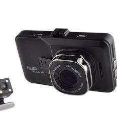 "ZS Car cameras กล้องติดรถยนต์ กล้องหน้า/กล้องหลัง Full HD 3.0"" รุ่น T636 (Black)(Black)"