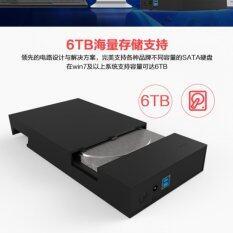 """ZS  HDD Box 3.5"""" รุ่น Lx36 สีดำ"""