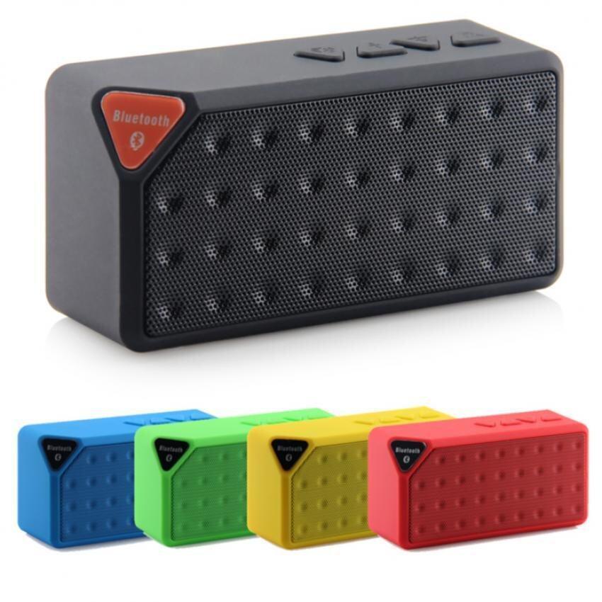 เสียงดีมาก ลำโพงแบบพกพา ZS ZS ลำโพง Bluetooth speaker รุ่น Mini X-3(yellow) ร้านที่เครดิตดีที่1