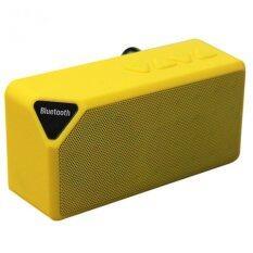 ขาย Zs ลำโพง Bluetooth Speaker รุ่น Mini X 3 Yellow ออนไลน์ ใน กรุงเทพมหานคร