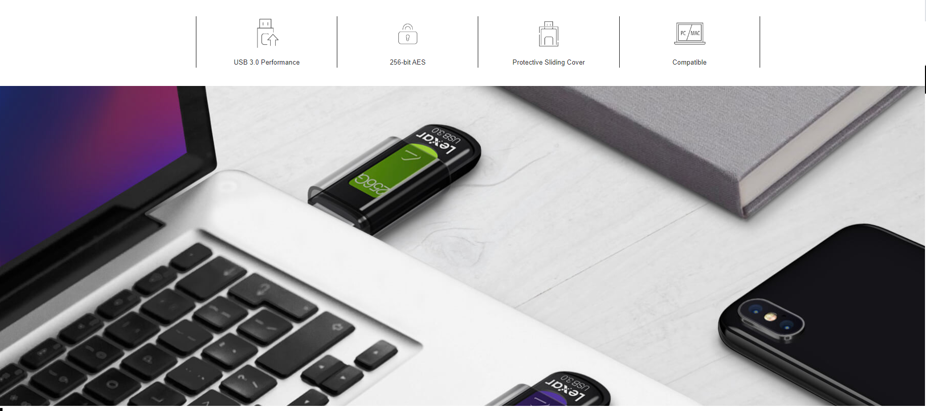 Lexar JumpDrive S57 16GB 32GB 64GB 128GB 256GB USB 3.0 Drive 130MB//s lot