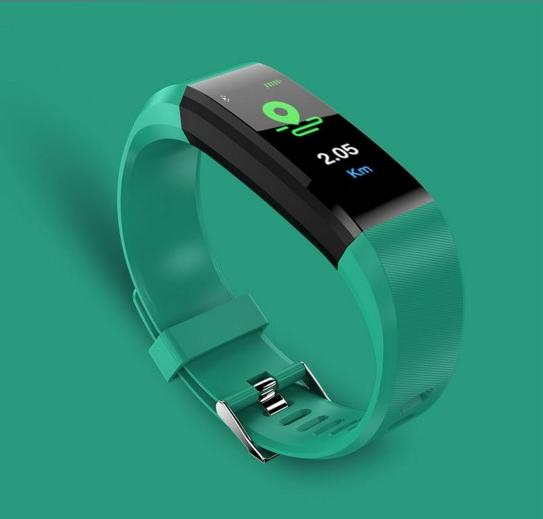 นาฬิกาข้อมือเพื่อสุขภาพ เหมาะกับ Lifestyle ของคุณ สายรัดข้อมืออัตราการเต้นของหัวใจ เชื่อมต่อบลูทูธ กันน้ำ งานแท้100% รุ่นm4 By Amazonshop.