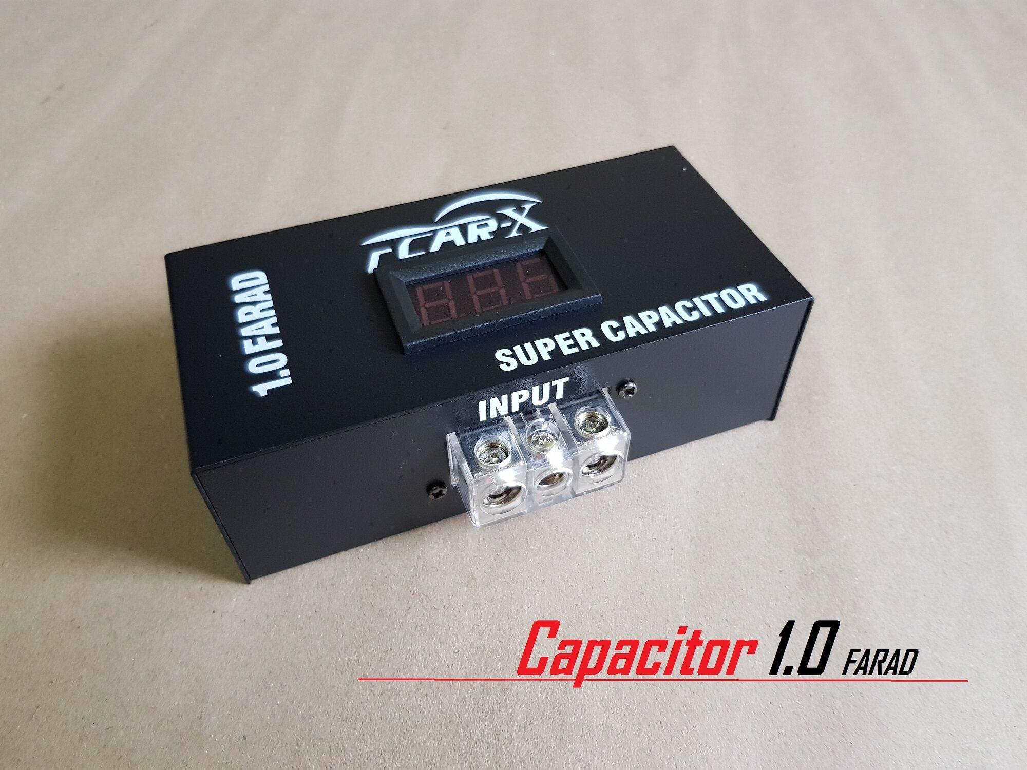 Car-x คาปาซิเตอร์แท้ 1 0FARAD Super capacitor คาปาซิเตอร์ Car-x รุ่น 1 0F
