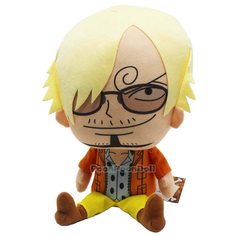 One Piece 8/'/' Sanji Plush Licensed NEW