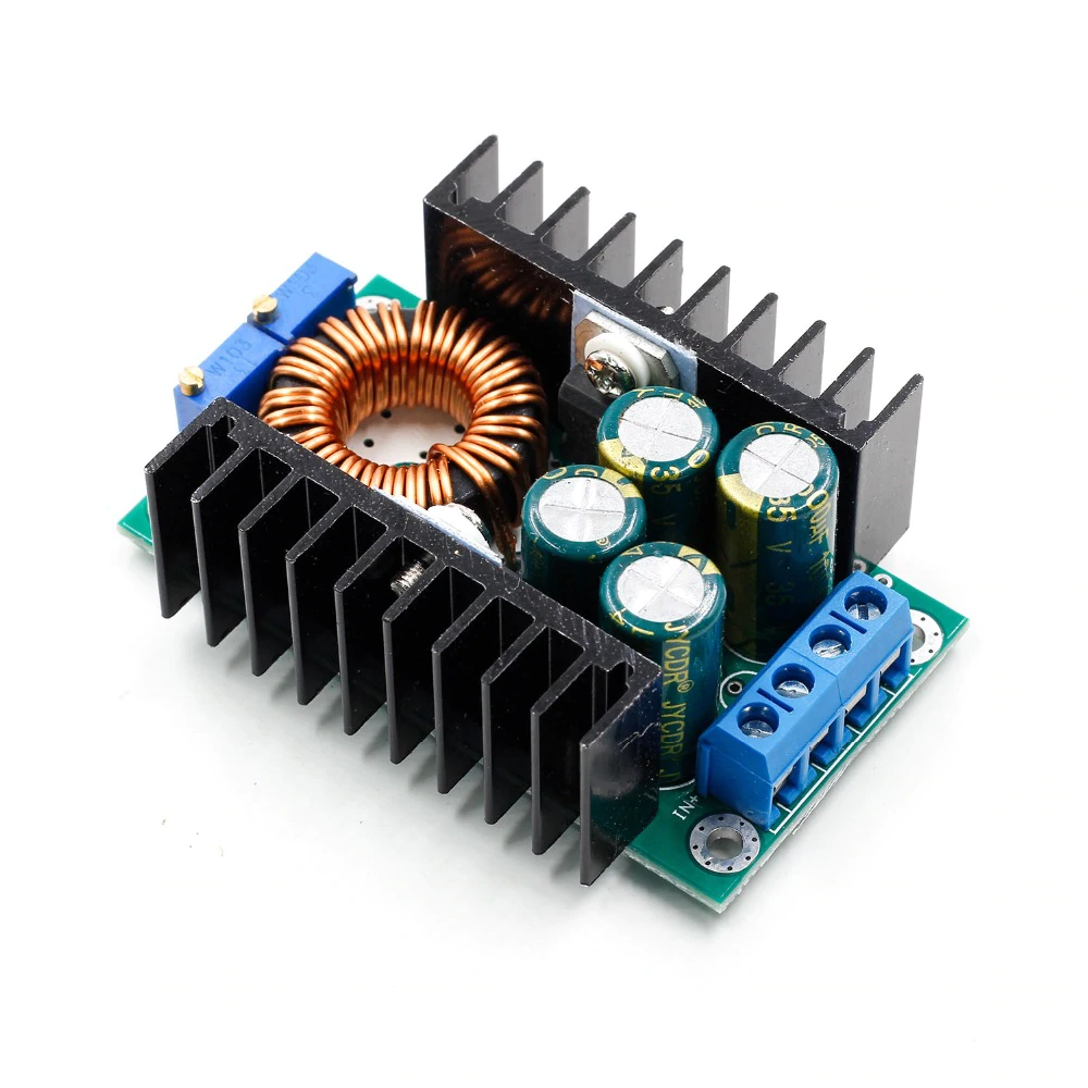 />37V  avec voltmètre 5022# module alimentation ajustable lm2596 DC-/>DC 1,2