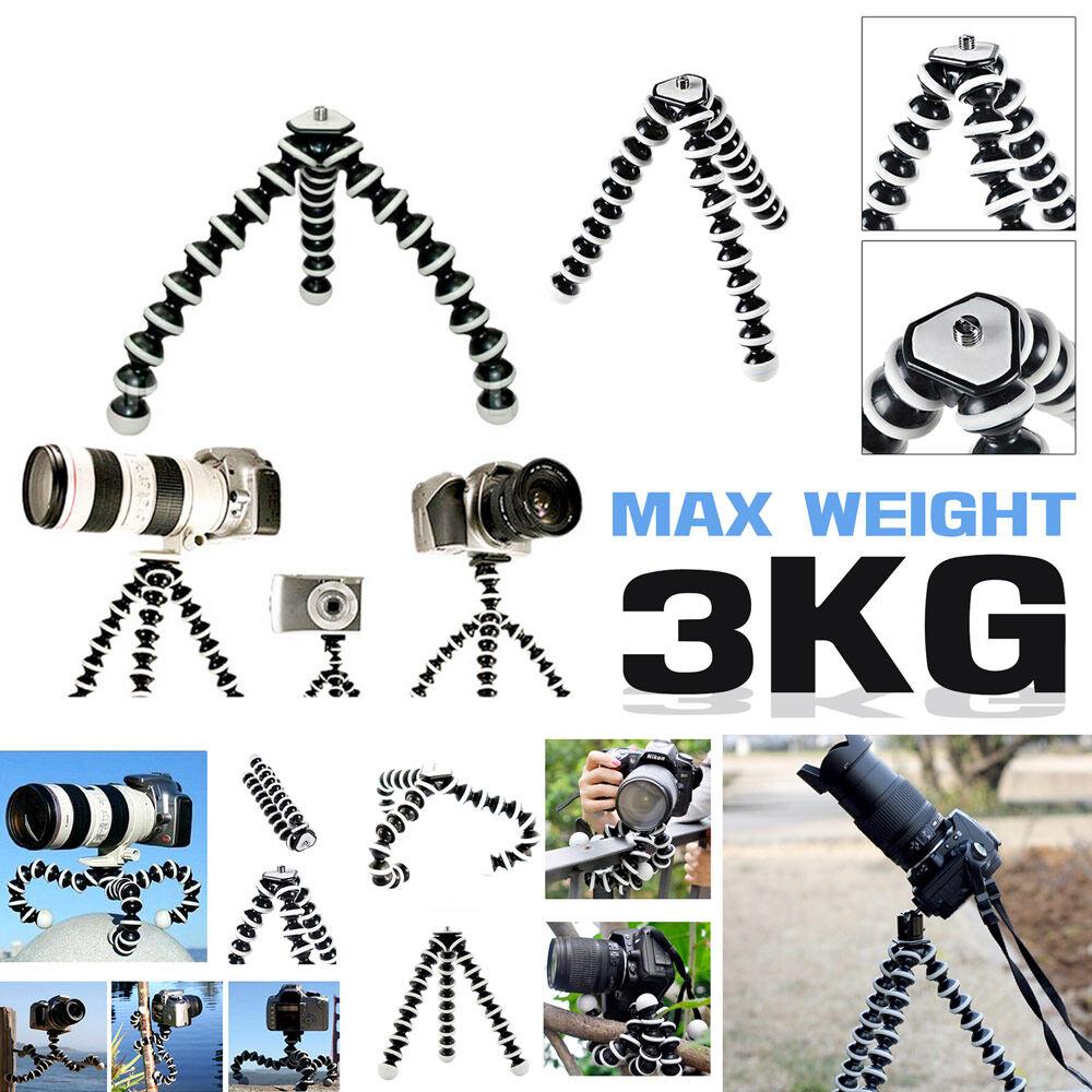 Gorillapod ขาตั้งกล้องปลาหมึก Gorillapod 3kg สำหรับกล้องดิจิตัล และมือถือ By Hotsale2.