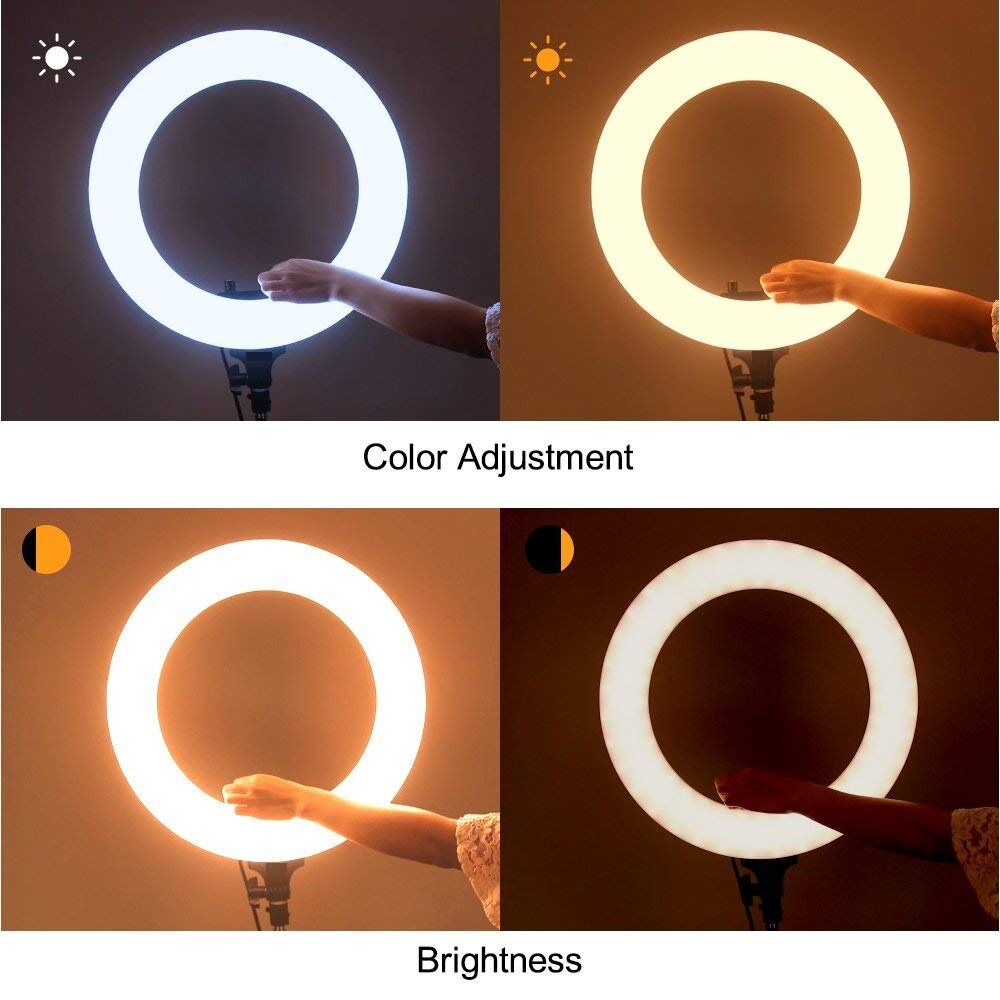 Qcase Led Ring Light 14 Inch 18