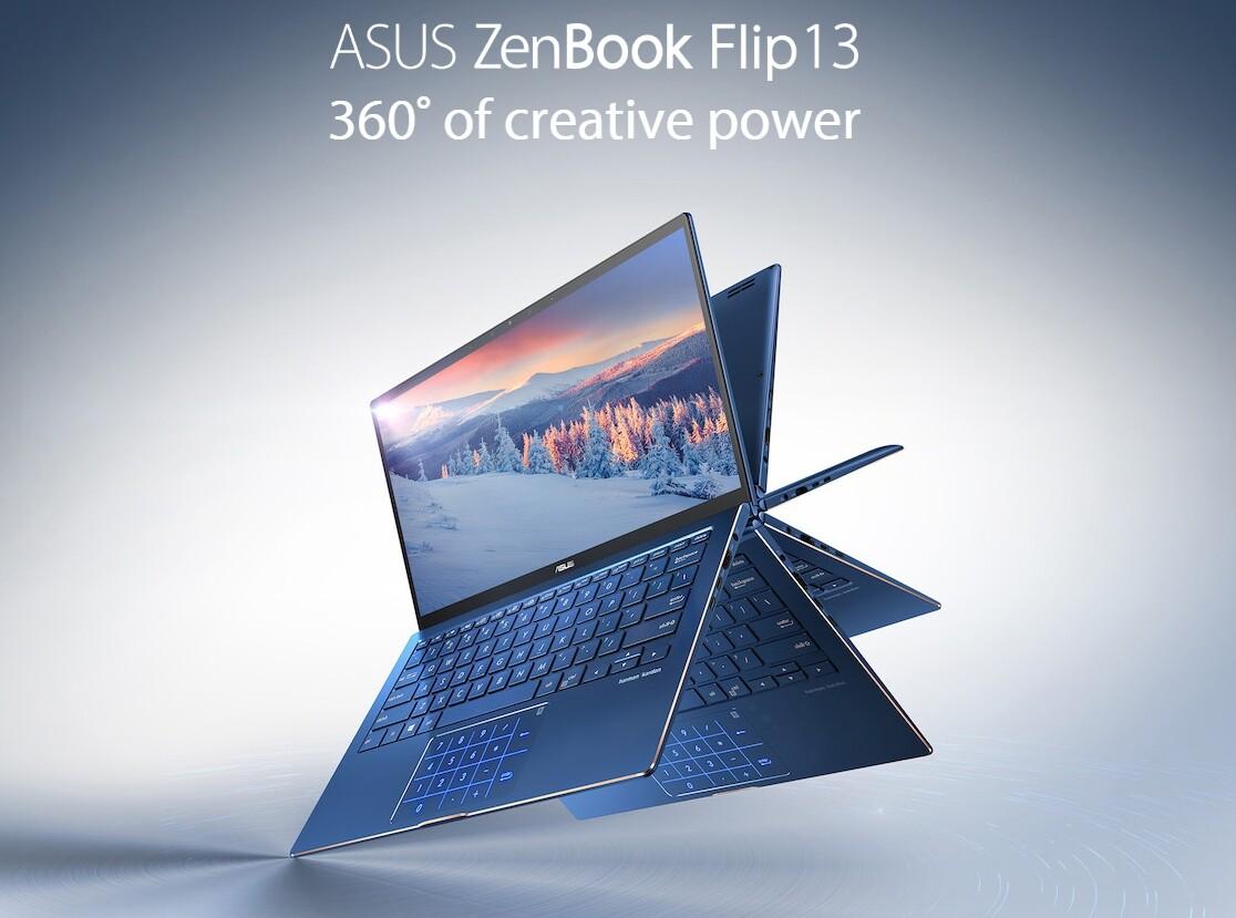 Asus ZenBook Flip 13 UX362FA-EL221T i7-8565U/8GB/512GB SSD/13.3/Win10  (Royal Blue)