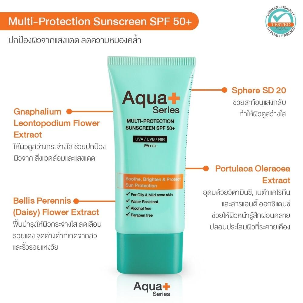 Multi-Protection Sunscreen SPF 50+