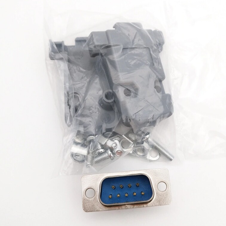 Shells Kit Solder Type 2 Sets DB9 RS232 Female Serial Port Connectors 9 pin