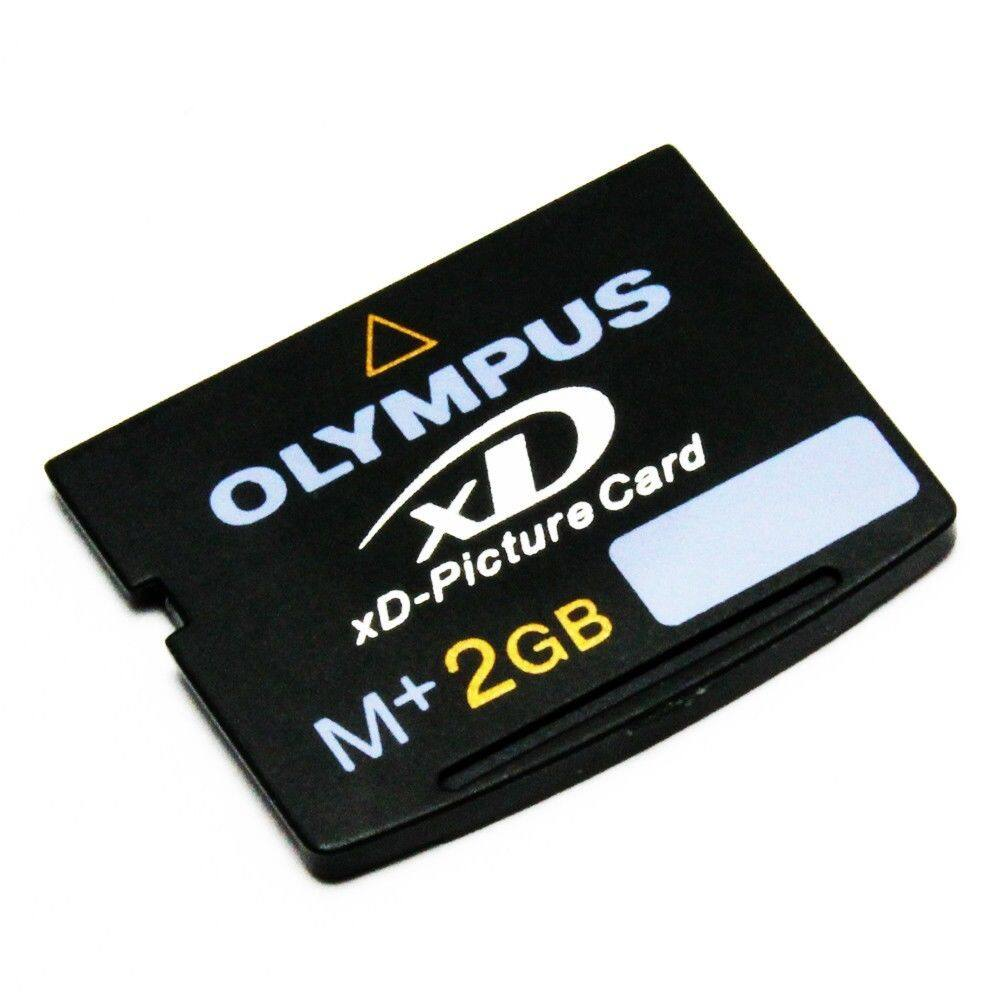 Olympus 2GB xD Memory Card M+ Full Retail Pack including Storage Case with 3D // Panorama//Art functions