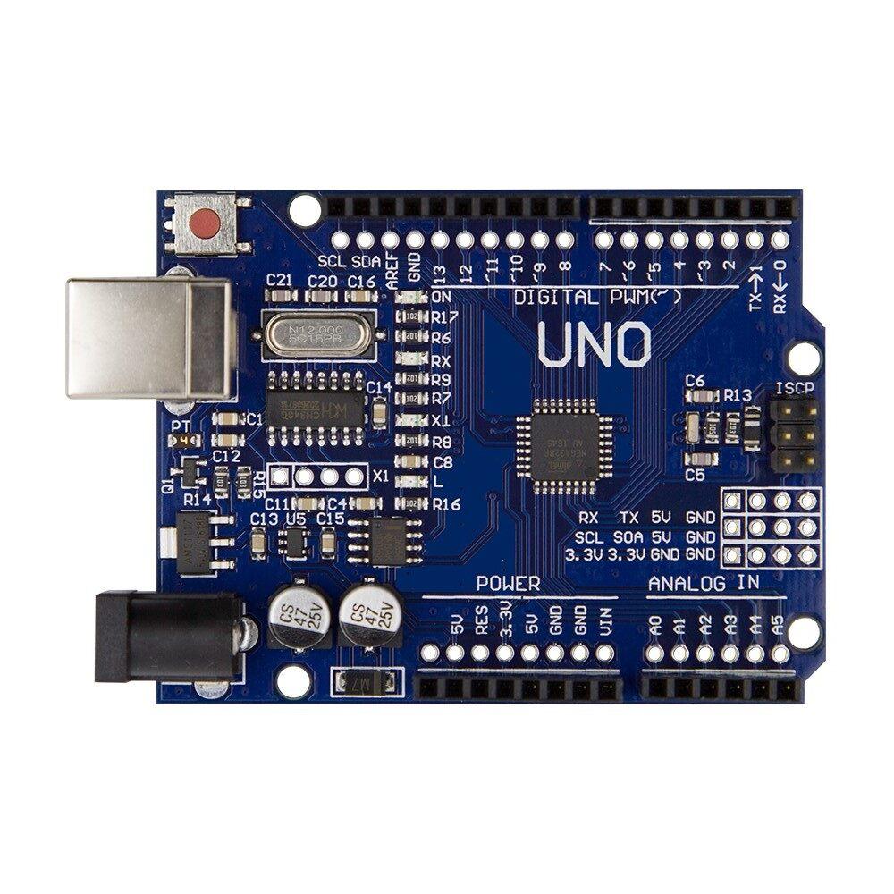 Arduino Uno R3 Rev3 ATMEGA328P Compatible Board FREE Pins 5V Developmen US